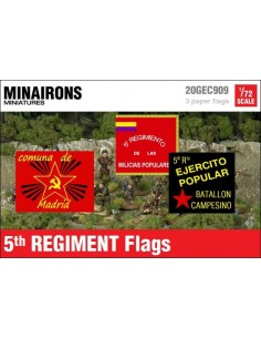 1/72 5th Regiment Flags
