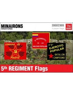 1/72 Banderes del 5è Regiment