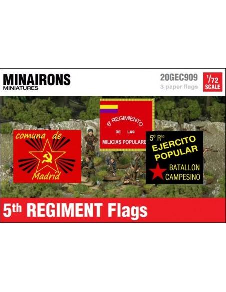 1/72 Banderas del 5º Regimiento