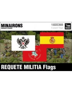 1/100 Requete Tercios flags