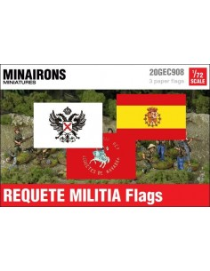 1/72 Requete Tercios flags