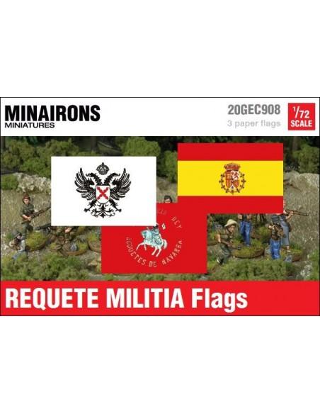 1/72 Banderas del Requeté