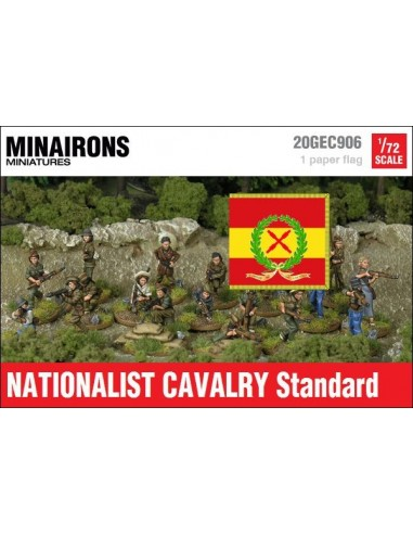1/72 Estendard de cavalleria franquista