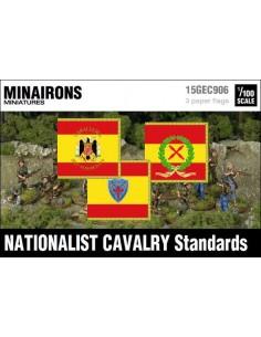 """1/100 Estandartes de caballería """"nacional"""""""