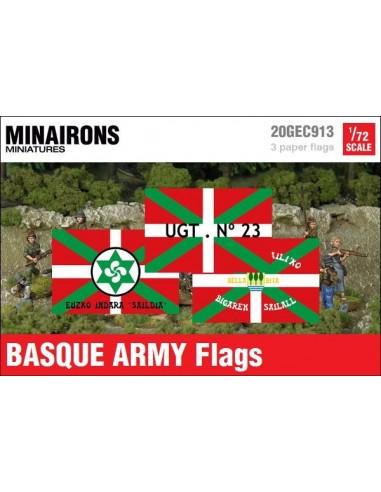 1/72 Basque Army Flags