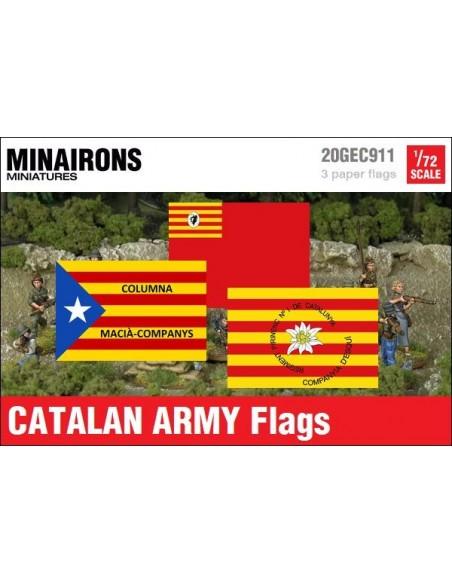 1/72 Banderas del ejército catalán
