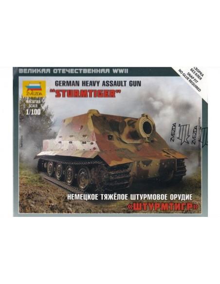 1/100 Sturmtiger assault gun - Boxed kit
