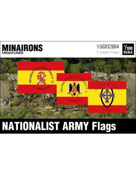 1/100 Banderes de l'Exèrcit franquista