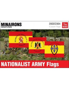 1/72 Nationalist Army flags