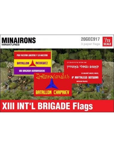 1/72 Banderes de la XIII Brigada Internacional