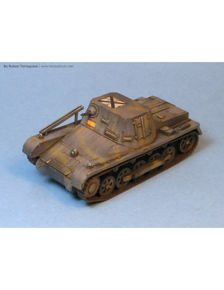 Befehlswagen I Ausf. B - 1/72 scale