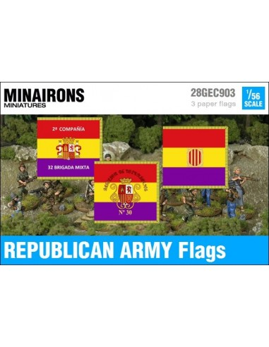 1/56 Republican Army Flags