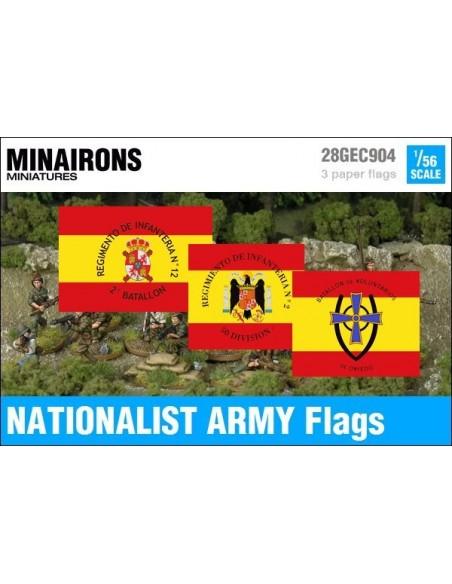 """1/56 Banderas del Ejército """"Nacional"""""""