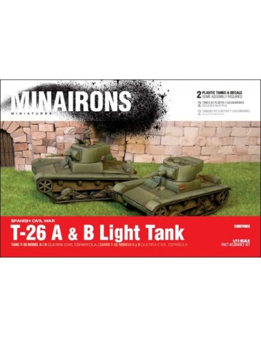 T-26 models A i B - escala 1/72