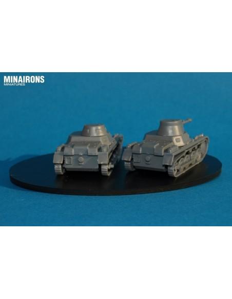 1/72 Panzer I A - Caja de 3
