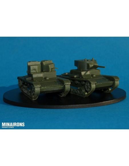 1/72 T-26 A & B Tank - Boxed set