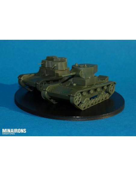 1/72 Tanc T-26 - Capsa de 2