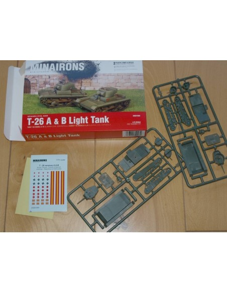 T-26 A & B Light Tank - 1/72 scale