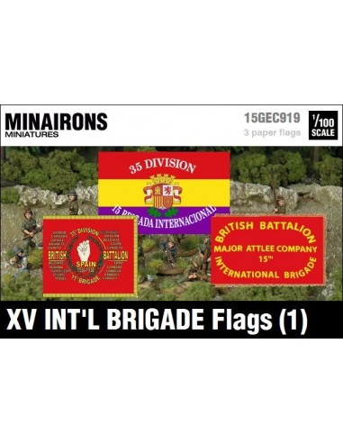 1/100 Banderes de la XV Brigada Internacional (1)