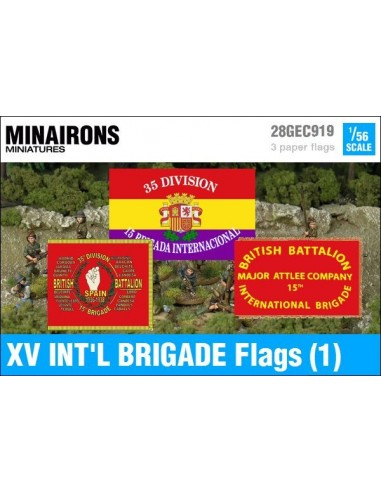 1/56 XV International Brigade Flags (1)
