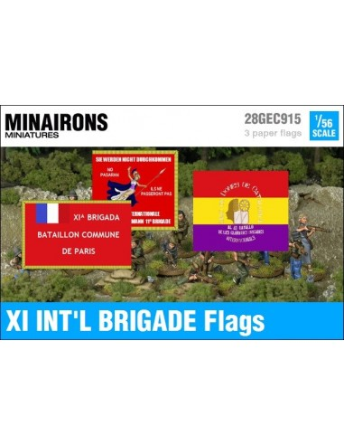 1/56 XI International Brigade Flags