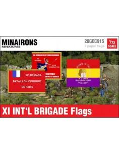 1/72 Banderes de la XI Brigada Internacional