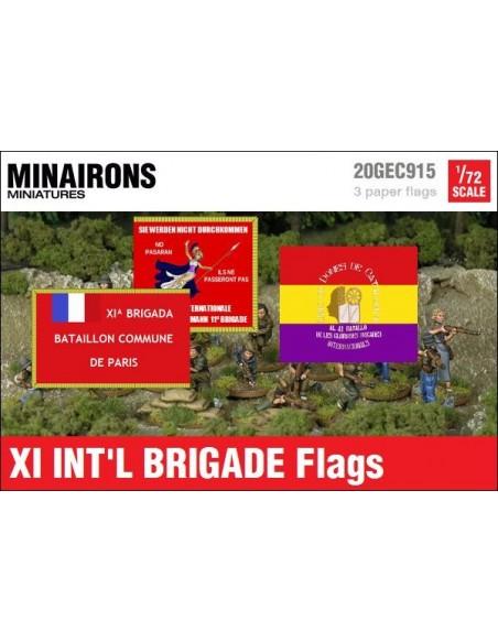 1/72 Banderas de la XI Brigada Internacional