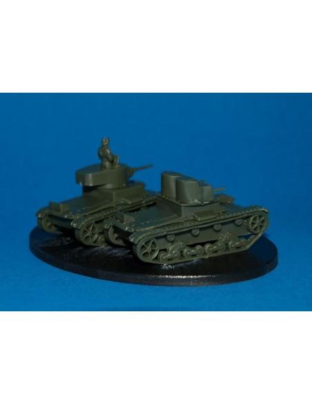 1/100 Tanc T-26 - Capsa de 5