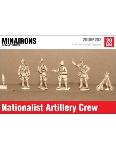 20mm Nationalist Artillery crew
