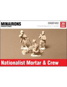 20mm Valero mortar & Nationalist crew