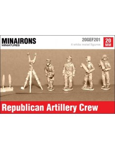 20mm Republican Artillery crew