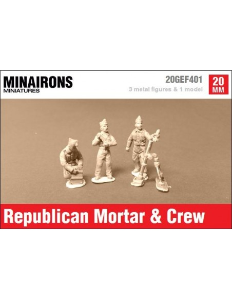 20mm Stokes-Brandt mortar & Republican crew