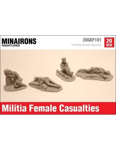 20mm Bajas de milicianas