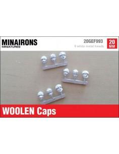 20mm Woolen caps (m)
