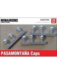 20mm Pasamontaña caps (m)