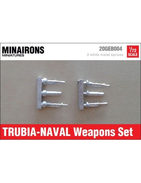 1/72 Trubia-Naval weapons set