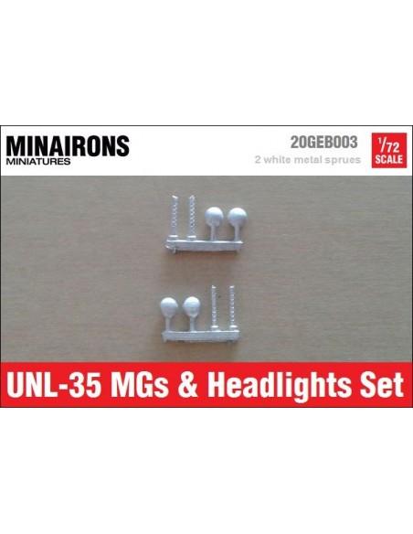 1/72 Metralladores i llums de l'UNL-35