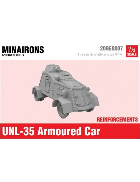 1/72 Blindat UNL-35 - Model sòlt