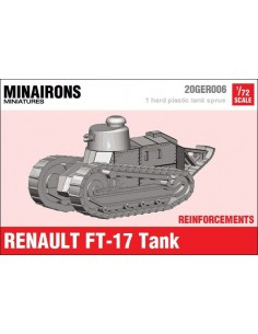 1/72 Renault FT-17 Tank - Single sprue
