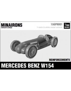 1/100 Mercedes Benz W154 - Single model