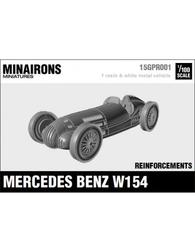 1/100 Mercedes Benz W154 - Model sòlt