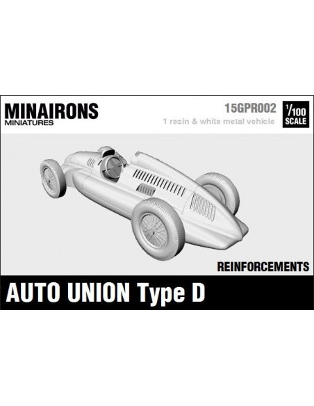 1/100 Auto Union type D - Single model
