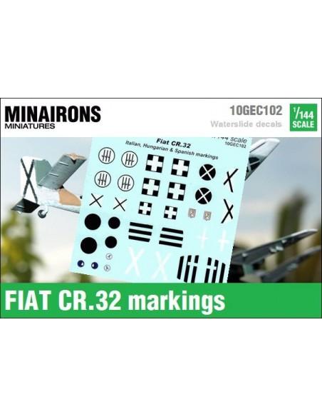 1/144 Distintivos del Fiat CR.32