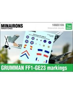1/144 Distintivos del Grumman FF1/G23