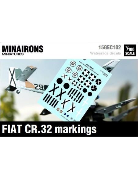 1/100 Distintius del Fiat CR.32