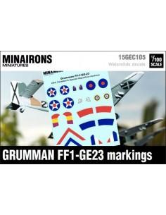 1/100 Distintivos del Grumman FF1/G23