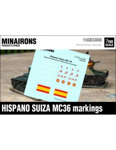 1/100 Distintivos del Hispano Suiza MC-36