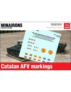 1/72 Distintivos de blindados catalanes