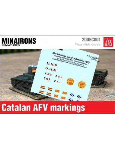 1/72 Distintivos de blindados catalanes