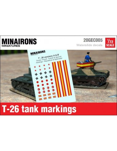1/72 T-26 A&B markings